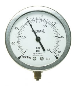 Stainless steel Pressure gauge - Direct mounted