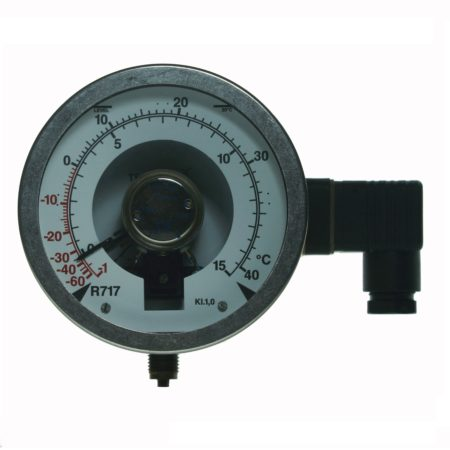 Pressure gauges w/ output signal